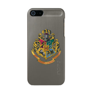 Harry Potter | Hogwarts Crest - Full Color Metallic Phone Case For iPhone SE/5/5s