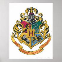 Harry Potter   Hogwarts Crest - Full Color Poster