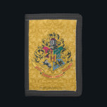 """Harry Potter   Hogwarts Crest - Full Color Trifold Wallet<br><div class=""""desc"""">Ever dream of being in Gryffindor? Wish you could be in Ravenclaw? What about sorting into Slytherin or Hufflepuff? Even we everyday Muggles can be part of the magic of Harry Potter with this colorful crest design from Hogwarts. Inspired by the J.K. Rowling kids series, embrace the magic within and...</div>"""