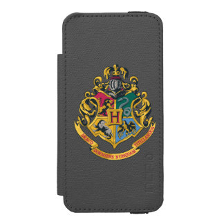 Harry Potter | Hogwarts Crest - Full Color Wallet Case For iPhone SE/5/5s