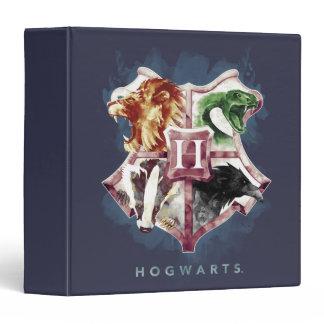Harry Potter | HOGWARTS™ Crest Watercolor 3 Ring Binder