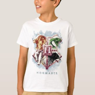Harry Potter | HOGWARTS™ Crest Watercolor T-Shirt