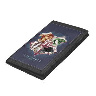 Harry Potter | HOGWARTS™ Crest Watercolor Trifold Wallet