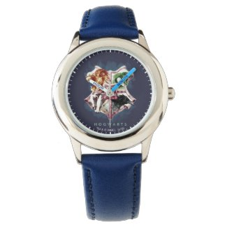 Harry Potter   HOGWARTS™ Crest Watercolor Watch