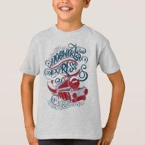 Harry Potter | Hogwarts Express Typography T-Shirt
