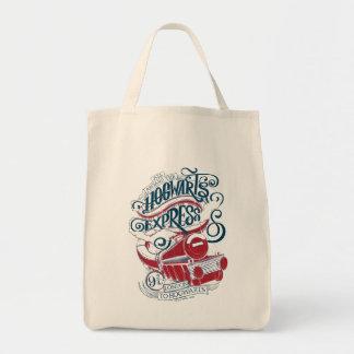 Harry Potter | Hogwarts Express Typography Tote Bag
