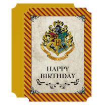 Harry Potter   Hogwarts Happy Birthday Card