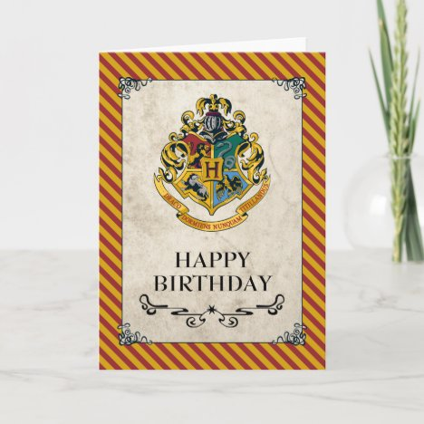 Harry Potter | Hogwarts Happy Birthday