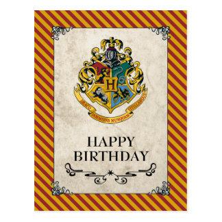 Harry Potter | Hogwarts Happy Birthday Postcard