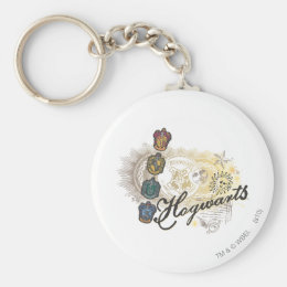 Harry Potter | Hogwarts Houses - Full Color Keychain