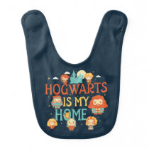 HARRY POTTER™ | HOGWARTS™ IS MY HOME BABY BIB