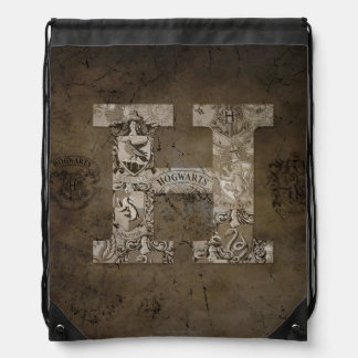 Harry Potter | Hogwarts Monogram Drawstring Backpack