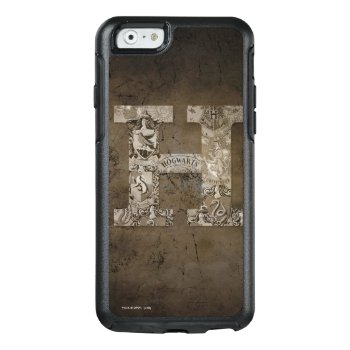 Harry Potter   Hogwarts Monogram Otterbox Iphone 6/6s Case by harrypotter at Zazzle