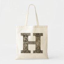 Harry Potter   Hogwarts Monogram Tote Bag