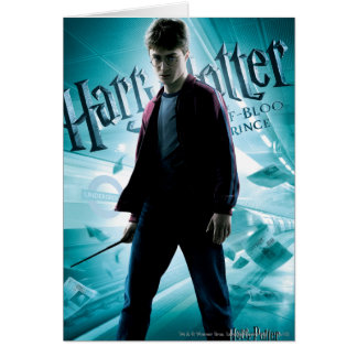 Harry Potter HPE6 2 Greeting Card