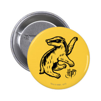Harry Potter | Hufflepuff Badger Icon Button
