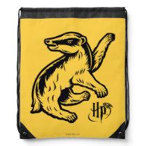 Harry Potter   Hufflepuff Badger Icon Drawstring Bag