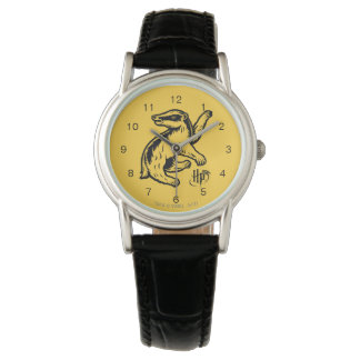 Harry Potter | Hufflepuff Badger Icon Wristwatch