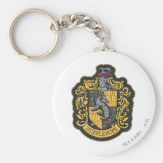 Harry Potter | Hufflepuff Crest Patch Keychain