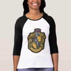 Harry Potter | Hufflepuff Crest Patch T-shirt at Zazzle