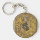 Harry Potter | Hufflepuff Crest Spray Paint Keychain