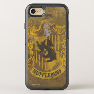 Harry Potter | Hufflepuff Crest Spray Paint OtterBox Symmetry iPhone 7 Case