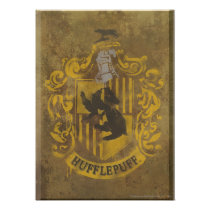 Harry Potter | Hufflepuff Crest Spray Paint Poster
