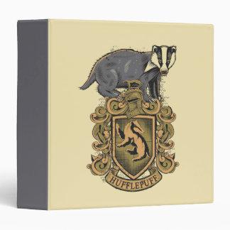 Harry Potter | Hufflepuff Crest with Badger Binder