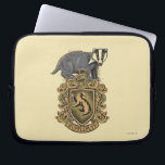 "Harry Potter | Hufflepuff Crest with Badger Computer Sleeve<br><div class=""desc"">The house crest of HUFFLEPUFF�.</div>"