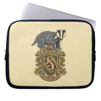 Harry Potter | Hufflepuff Crest with Badger Computer Sleeve