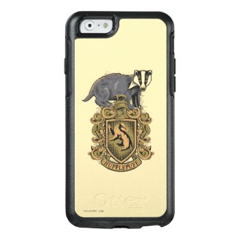 Harry Potter | Hufflepuff Crest With Badger Otterbox Iphone 6/6s Case by harrypotter at Zazzle