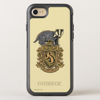 Harry Potter | Hufflepuff Crest with Badger OtterBox Symmetry iPhone 8/7 Case