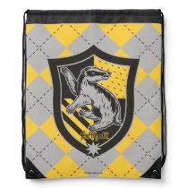 Harry Potter | Hufflepuff House Pride Crest Drawstring Bag