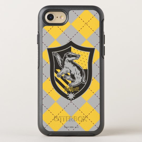differently 22296 6c9d6 Harry Potter | Hufflepuff House Pride Crest OtterBox iPhone Case