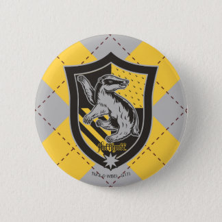 Harry Potter | Hufflepuff House Pride Crest Pinback Button