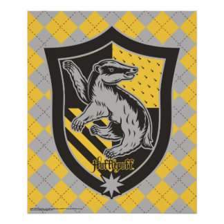 Harry Potter | Hufflepuff House Pride Crest Poster