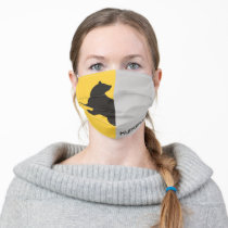 Harry Potter | Hufflepuff House Pride Graphic Adult Cloth Face Mask