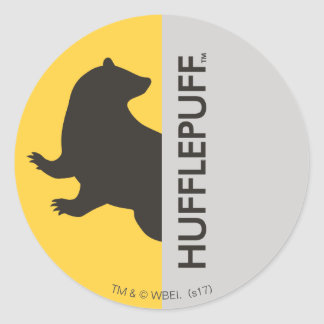 Harry Potter | Hufflepuff House Pride Graphic Classic Round Sticker