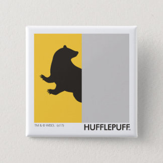 Harry Potter | Hufflepuff House Pride Graphic Pinback Button