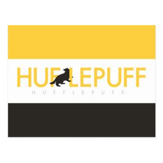Harry Potter | Hufflepuff House Pride Logo Postcard