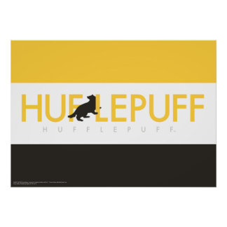 Harry Potter | Hufflepuff House Pride Logo Poster
