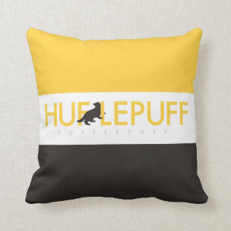 Harry Potter | Hufflepuff House Pride Logo Throw Pillow