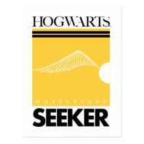 Harry Potter   HUFFLEPUFF™ House Quidditch Seeker Postcard