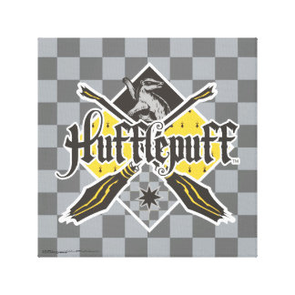 Harry Potter | Hufflepuff Quidditch Crest Canvas Print