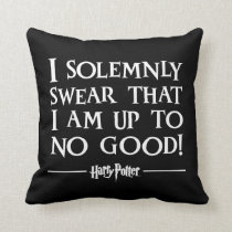 Harry Potter | I Solemnly Swear Throw Pillow