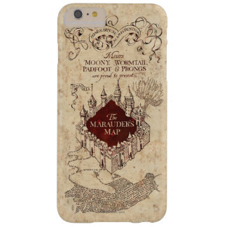 Harry Potter   Marauder's Map Barely There iPhone 6 Plus Case