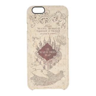 Harry Potter   Marauder's Map Clear iPhone 6/6S Case