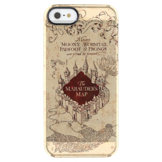 Harry Potter | Marauder's Map Clear iPhone SE/5/5s Case