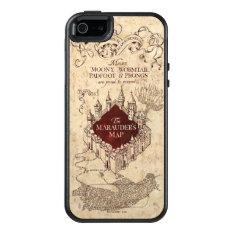 Harry Potter | Marauder's Map OtterBox iPhone 5/5s/SE Case at Zazzle