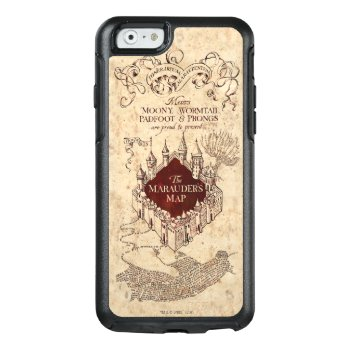 Harry Potter   Marauder's Map Otterbox Iphone 6/6s Case by harrypotter at Zazzle